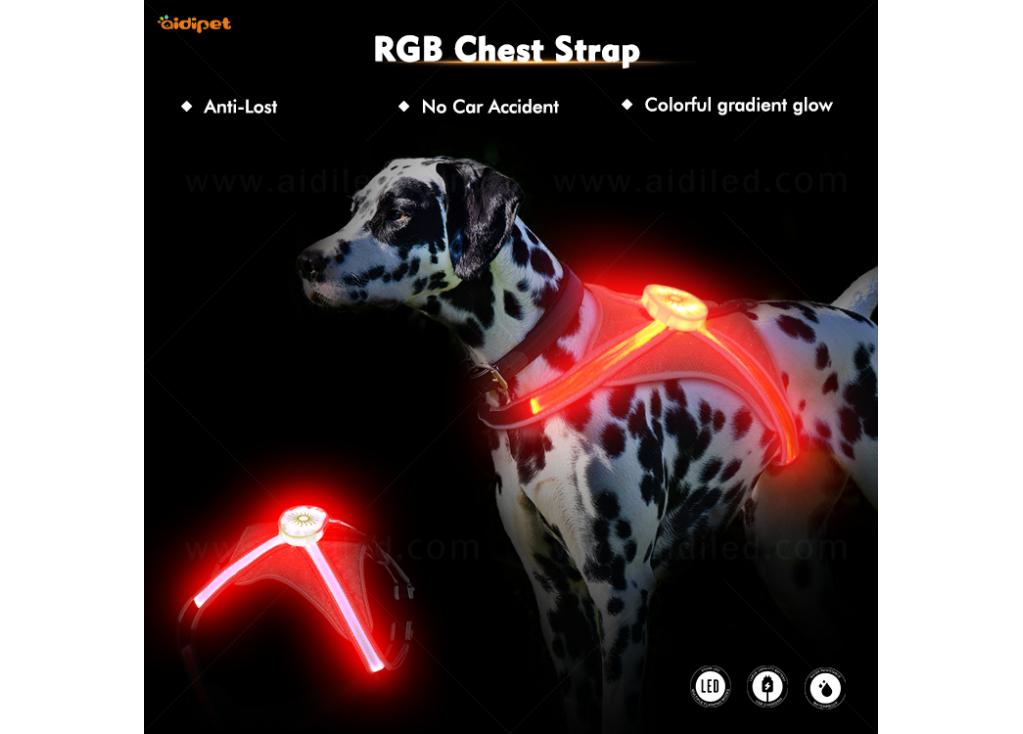 Glaubwürdige RGB Light Pet Halskette - Eine tolle Geschenkidee für Haustiere