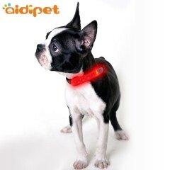 Multi Function Led Dog Collar Cover Light Soft Silicone Anti-Flea Pet Dog Collar Leash Cover Light Safrty Dog Light