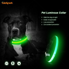 Professional Manufacture Adjustable Luxury nylon Dog Neck Collar