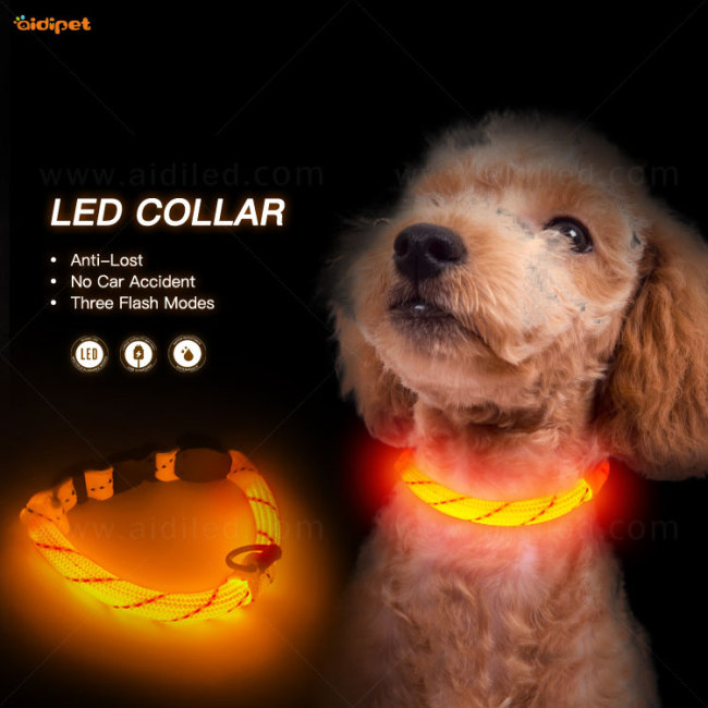 TINY DOG LED DOG COLLAR FOR SMALL DOGS NEW ARRIVAL