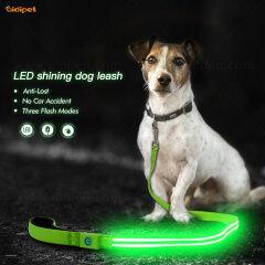Hot Sale Fashion LED Flashing Light Dog Leash