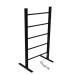 EV-100 Bathroom Ladder Aluminum Silver Towel Warmer Floorstanding Electric Heated Towel Rail