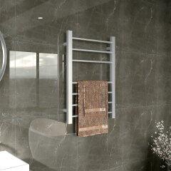 EVIA Bathroom Wall Mounted Heated Towel Rail Portable Electric Towel Dryer