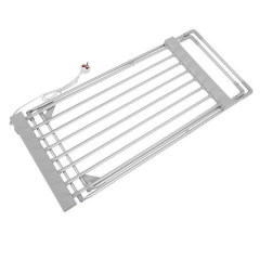 EVIA Aluminum Foldable Electric Heated Clothes Rack Without Wings