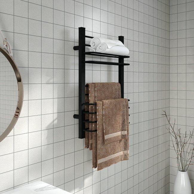 EVIA Modern Electric Towel Heater Heating Towel Dryer Wall Towel Rack For Home