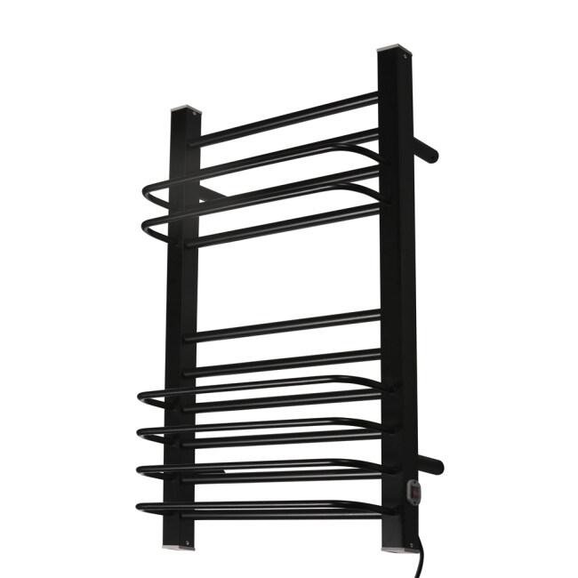 EV-200-1 Bathroom Ladder Aluminum Electric Towel Rack Wall Mounted Heated Towel Rail