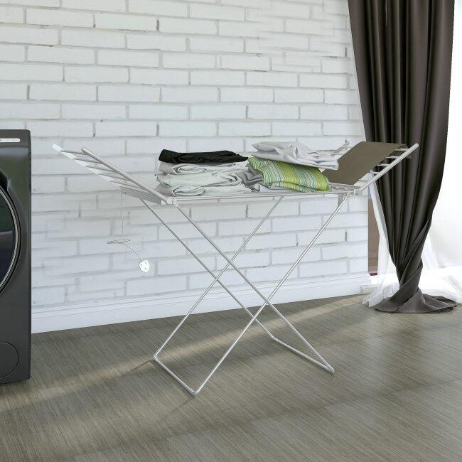 EVIA Household Aluminium Folding Electric Heated Clothes Airer