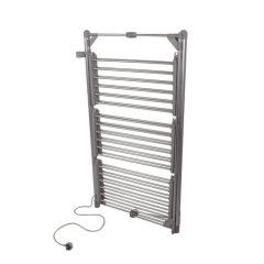 EVIA Aluminum Oxidized Folding 3-Tier Electric Heated Clothes Airer