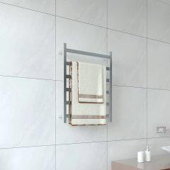 EVIA Bathroom Wall Mounted Stainless Steel Heated Towel Rail