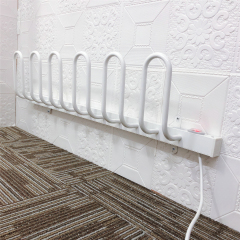 EVIA Wall Mounted 3 Pairs Aluminum Electric Shoe Dryer Rack