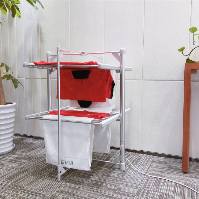 EV-200 Energy Saving Heated Stand Portable Electrical Clothes Dryer