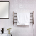 EVIA Bathroom Wall Mounted 304 Stainless Steel Electric Towel Rack