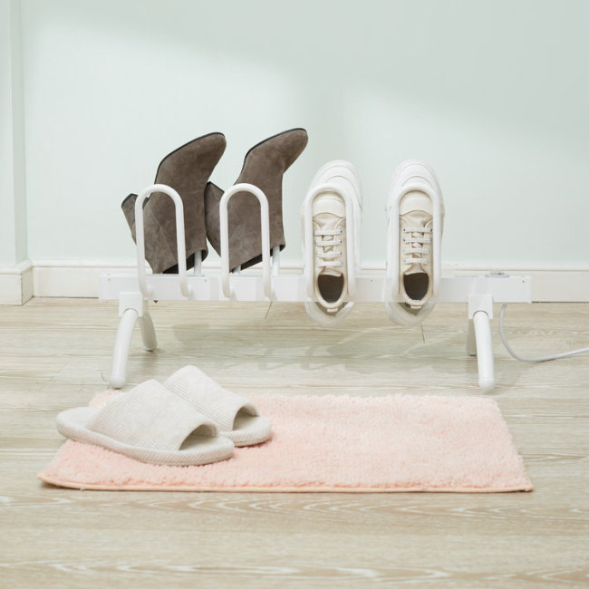 EV-80 Modern Simple Standing Metal Electric Shoe Racks For Home