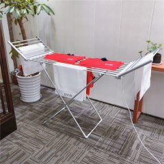 EV-260 Aluminum Foldable Hanger Portable Folding Heated Cloth Airer Electric Clothes Dryer Machine For Laundry