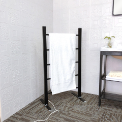 EV-100 Floor Standing Heated Warmer Electric Towel Stand Rack Holder