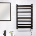EV-140 Bathroom Black Towel Warmer Wall Mount Electric Heated Towel Rack
