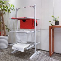 EV-300-1 Bedroom Aluminum Folding 3 Tier Electric Clothes Drying Rack