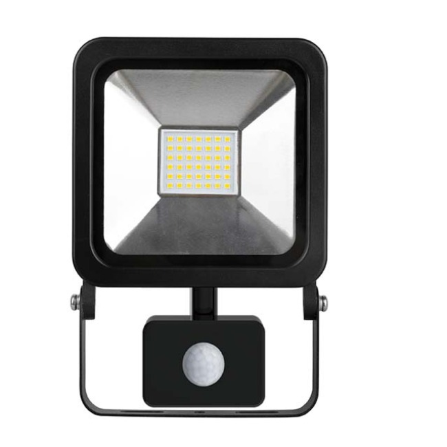 HF SERIES FLOODLIGHT WITH MICROWAVE/PIR SENSOR