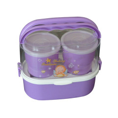 Top Sale Plastic PP Lunch Box Insulated Tiffin Lunch Box Food Container