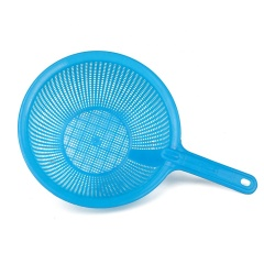 Wholesale Colorful Kitchen Plastic Pasta Strainer with Long Handle