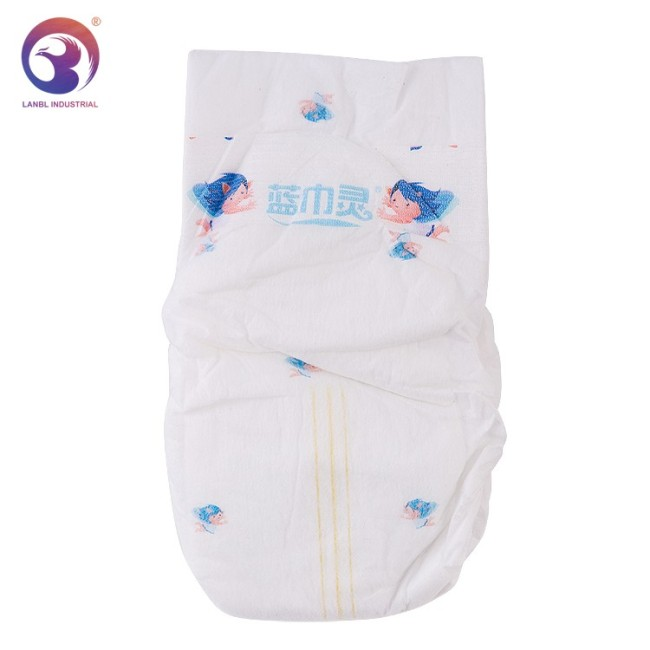 High Quality Hot Sale  Disposable Baby Diaper B Grade Manufacturer in China