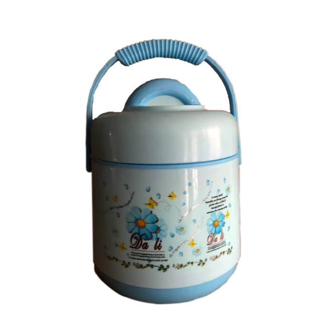 1.6L Plastic PP Lunch Box Jar  Food Warmer Vaccuum Container