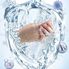 Portable Mini Alcohol Free Antibacterial Waterless Hand Sanitizer