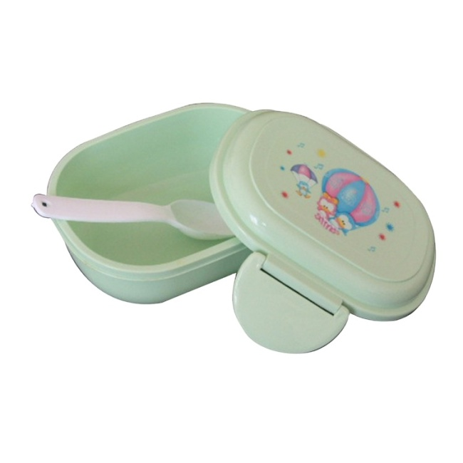 Customized Plastic Lunch Box Food Storage Bento Box Container