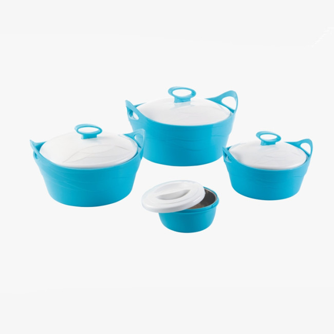 4 Pcs Set Thermos Insulated Food Warmer Casserole Stainless Steel