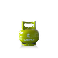 Hot Sale Good Quality Low Pressure 3kg LPG Gas Cylinder/Gas Bottle With Valve For Household Use