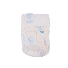 Soft And Cotton Printed Disposable B Grade Nappies Baby With High Absorption