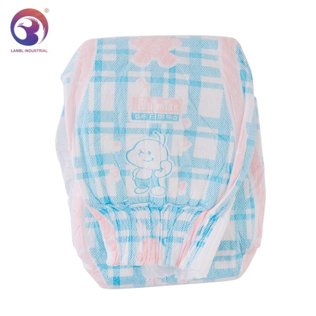 2020 Hot Sale Disposable B Grade Baby Diaper Manufacturer in China