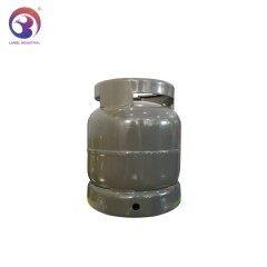 Africa Kenya/Ghana Market Camping 3kg Empty LPG Gas Cylinder for BBQ