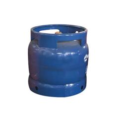 Africa Kenya/Ghana Market Camping 6kg Empty LPG Gas Cylinder for BBQ