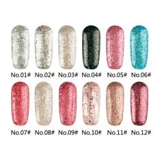 Bling Cosmetics Store Best Seller UV Gel Nail Polish Set Multicolor