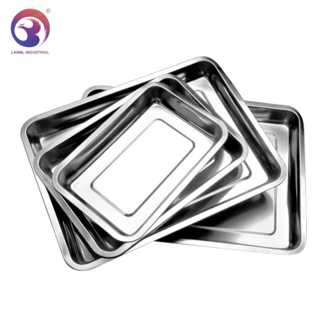 Commercial Stainless Steel Chafing Dish Insert Square Restaurant Buffet Gastronorm Food Pans