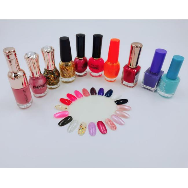 Custom Private Label OEM Eco-Friendly Non Toxic Water Based Nail Polish Set