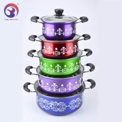 Customized 5 Pcs Hot Pot Food Warmers Container Set with Factory Price