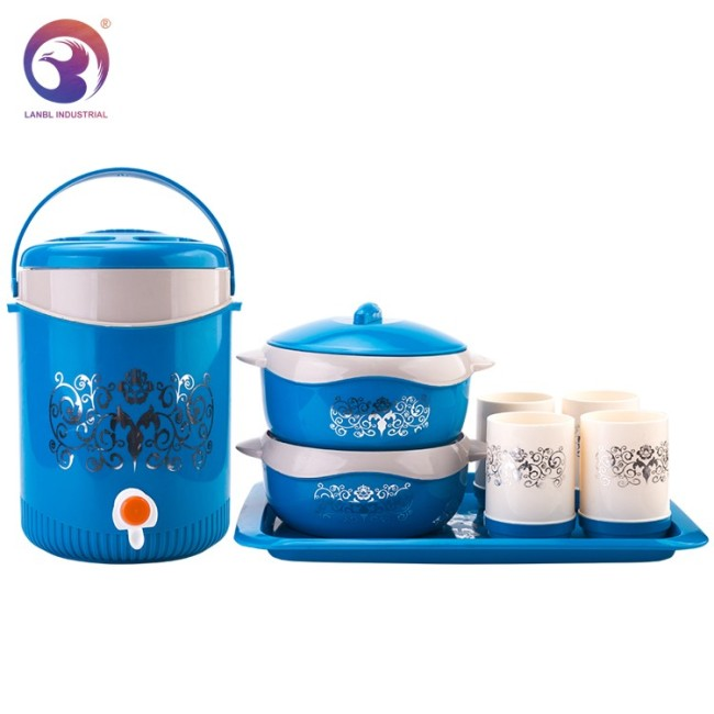 Customized 8 PCS Dinnerware Sets Thermos Lunch Box with Jug Water Set