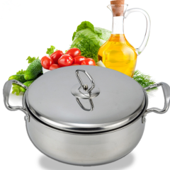 High Quality Cooking Soup Stainless Steel Casseroles Hot Pot Set for Kitchen