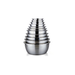 Multipurpose Deep Personalized Mixing Bowl Stainless Steel Magnetic Bowl