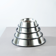 Pet Feeder Pet Bowl Stainless Steel Bowl For Dogs and Cats