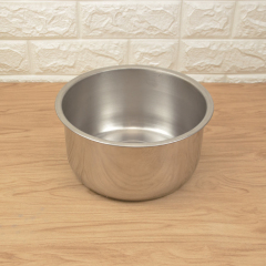 Restaurant Hotel Stainless Steel Condiment Basin Seasoning Cylinder with Lid