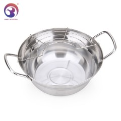 Stainless Steel Deep Fry Pot / Stainless Steel Frying Pan
