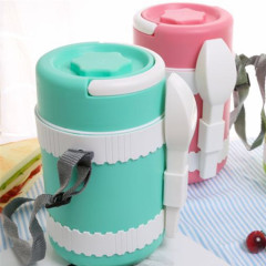 Stainless Steel Metal Thermos Food Warmer Container Children Lunch Box