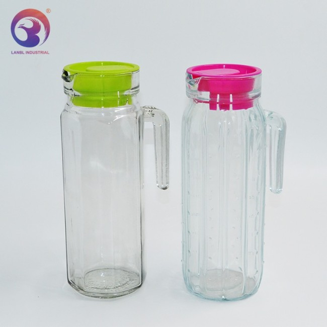 Wholesale 1000ml Large Capacity Cold Pyrex Glass Kettle Household Teapot Juice Pot