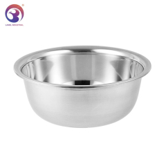 Wholesale Kitchen Metal Thicken Serving Salad Bowls Set Stainless Steel