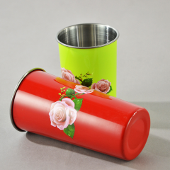 Wholesale Powder Coated Vacuum Coffee Cups Insulated Stainless Steel Mugs for Beer