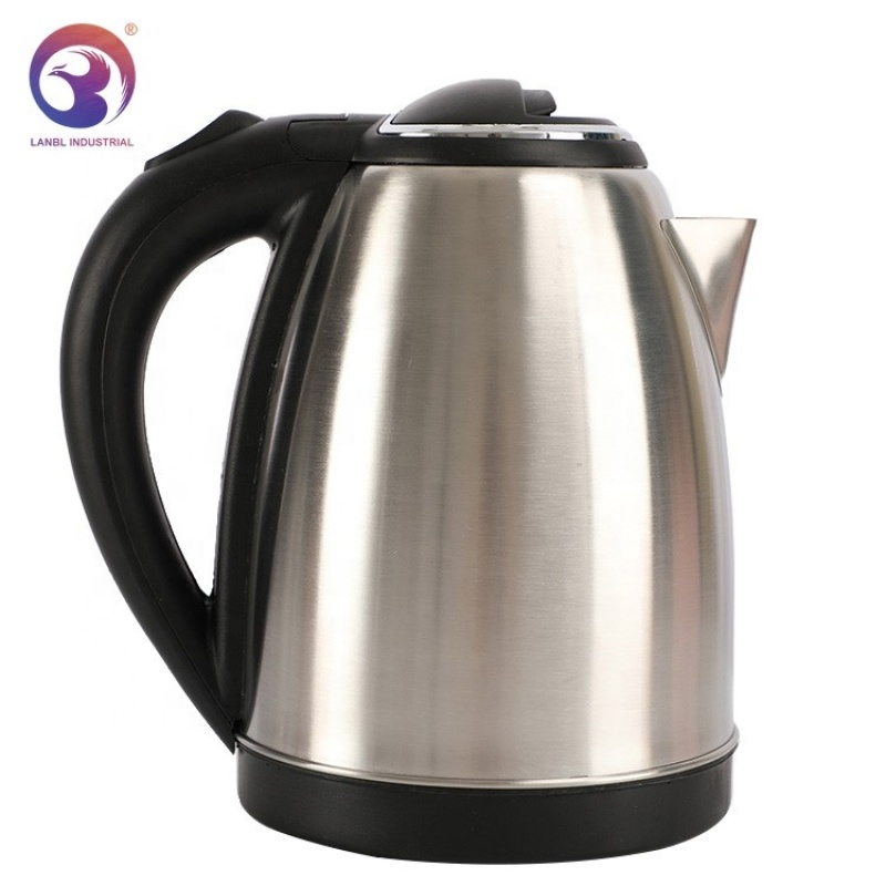 Wholesale Stainless Steel 1.8L Mat Finish Body Electric Water Kettle
