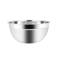 Wholesale Various Size Standard Mirror Polished Stainless Steel Nesting Mixing Bowls
